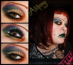 World of makeup. Bad Makeup, Bright Makeup, Alchemy, Best Makeup Products, Halloween Face Makeup, Make Up, Eyes, Creepy, Sparkly Makeup
