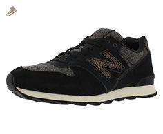 New Balance Women's WL696 Capsule Pack Classic Running Shoe, Black,9 B US - New balance sneakers for women (*Amazon Partner-Link)