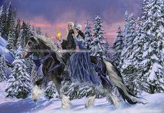 Duet- by Nene Thomas.  I LOVE this artist's work!