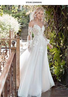 Lace Wedding Dress, Maggie Sottero Wedding Dresses, Long Sleeve Wedding, Princess Wedding Dresses, Colored Wedding Dresses, Dream Wedding Dresses, Designer Wedding Dresses, Bridal Dresses, Wedding Gowns
