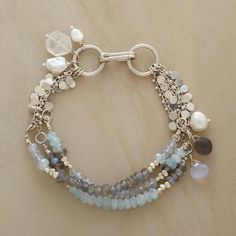 LIKE THE STRAND CONNECTING WITH A JUMP TO THE LARGER RINGS..........GALLERY BRACELET