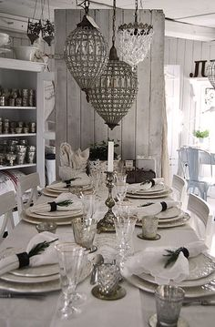 white and silver in the country kitchen - anyone up for breaky?   jw
