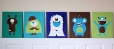 cricut painted canvases