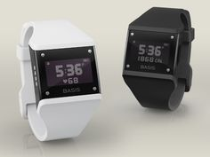 Cool watch that tracks your heart rate, daily activity, sleep, etc.  synchs all of your information wirelessly. Sweet.