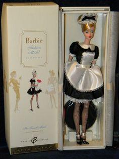 The French Maid 2006 Silkstone Fashion Model Career Barbie Gold Label | eBay