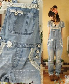 overalls... but not so... country bum, more like.. country cute. :)
