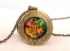 Harry Potter HOGWART Locket, 0366LPB from EgginEgg by DaWanda.com