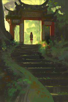 anime style artwork