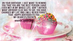 Birthday Message for Older Sister | On your birthday, I just want to remind you that you are the best ...