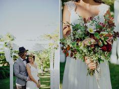 Susannah Blatchford Bouquet & Hair piece by Aromaunga Flowers Ltd Bridesmaid Dresses, Wedding Dresses, Industrial Wedding, Hair Piece, Our Wedding, Wedding Flowers, Bouquet, People, Beautiful