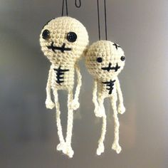 Skeletons - can it be done with plastic bags crocheted into skeletons???!!!
