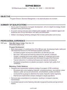 Resume Examples Young Adults
