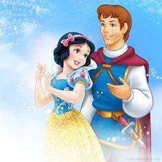 Princess-Snow-White-With-Prince-Charming.jpg (900×900)
