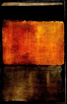 Mark Rothko | copper Brown and orange/yellow/red abstract is sophisticated and subtle #11, 1950 Plus