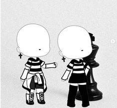 Boys Anime, Anime Wolf Girl, Couple Outfits, Club Outfits, Clothing Sketches, Anime Dress, Cute Kawaii Drawings, Anime Life, Cute Characters