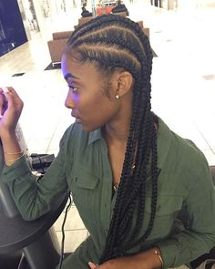 Book @misstaylormade_ for these beautiful ass natural banana braids