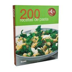 Libro 200 Recetas Pasta