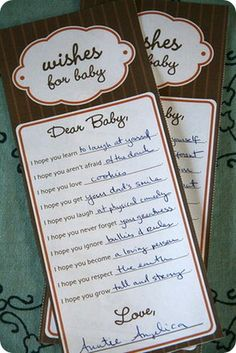 Two sweet baby shower game ideas (Totally non-awkward!) from @Maury Kilgo (Life on Mars)