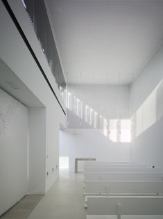 Image 21 of 30 from gallery of Funeral Home and Garden in Pinoso / Cor & Asociados. Photograph by David Frutos Contemporary Architecture, Architecture Design, Memorial Architecture, Funeral Memorial, Business Design, Home Projects, Interior Inspiration, Interior Decorating, Minimalist