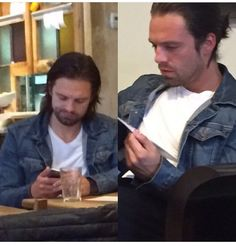 O.O...guys...Sebastian's doing the thing...the man-bun...just like in our headcanons and fanarts...he actually does it...