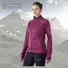 Berghaus womens #pravitale #stretch full zip fleece #jacket - authorised dealer,  View more on the LINK: 	http://www.zeppy.io/product/gb/2/221736512392/