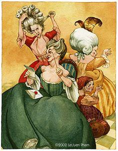 From Cinderella illustrated by LeUyen Pham