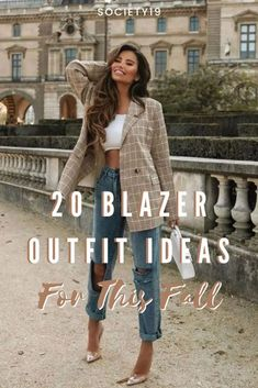 20 Blazer Outfit Ideas For This Fall