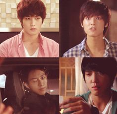 CNBLUE Code Name: Burning, Lovely, Untouchable, Emotional. All right here, in one gif.