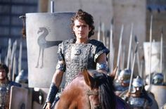 "8/30/11 - Watching the movie Troy with Orlando Bloom as ""Paris""."