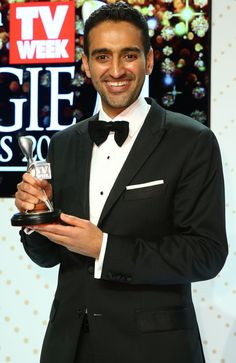 Waleed Aly poses with the Silver Logie Award for Best Presenter 'The Project' during the 58th Annual Logie Awards at Crown Palladium on May 8, 2016 in Melbourne, Australia. http://www.news.com.au/entertainment/awards/logies/live-blog-all-the-action-from-the-2016-tv-week-logie-awards/news-story/49b8903d785385c4573ee1bf16dc6c22