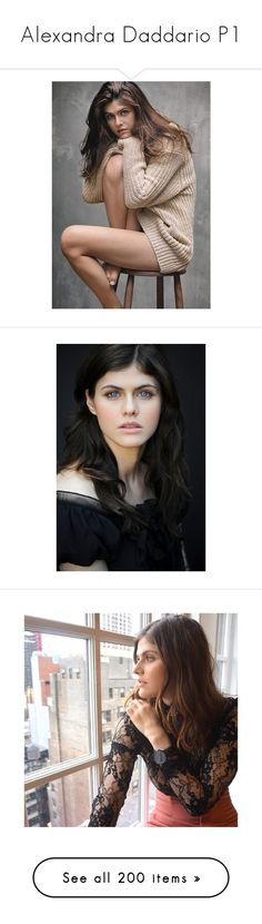 """""""Alexandra Daddario P1"""" by natasha-maree13 ❤ liked on Polyvore featuring men's fashion, people, alexandra daddario, celebs, artemis, celebrities, percy jackson icons, pictures, faceclaim and women"""