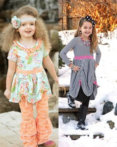 Create Kids Couture - Maybi's Knit Dress and Tunic PDF Pattern. Maybi is a fun knit dress/tunic with tons of options! It features an optional neck ruffle, short, and long sleeves as well as a sleeveless option making it perfect year round. The fun pick ups on the skirt make this perfect for layering over leggings, shorts, or pants.
