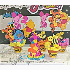 Winnie the Pooh & Friends Birthday Party by KielyQDesignsStudio