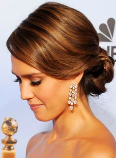 Google Image Result for http://www.updosformediumlengthhair.org/wp-content/uploads/2012/05/Jessica-Alba-Chignon-Updos-Hairstyles.jpg