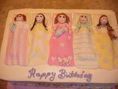 sleepover birthday cakes - Google Search