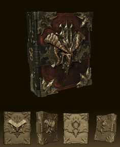 ArtStation - Book of Cain - Diablo 3 Cinematics, Tyler Hunter