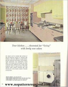 VINTAGE KITCHEN On Pinterest 1950s Kitchen 1960s Kitchen And Retro