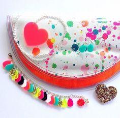 Beautiful Jewellery eachtoown, clutch bag happytiff