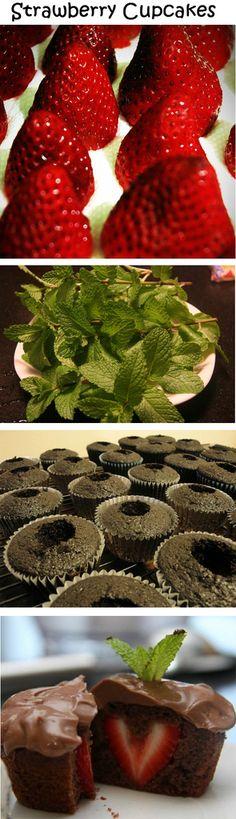Strawberry Cupcakes - DIY Ideas 4 Home