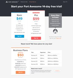 Curated directory of the best Pricing Pages