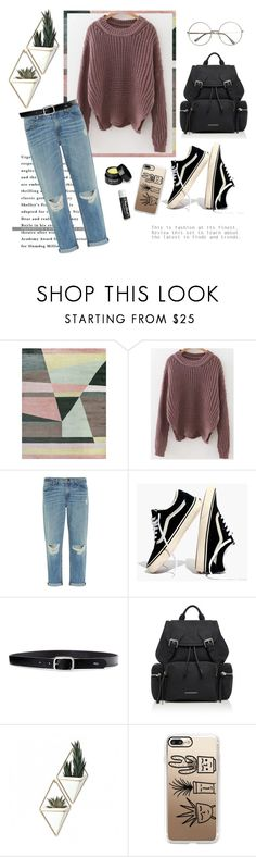 """""""Fall Sweater Fashion"""" by delicatedays ❤ liked on Polyvore featuring rag & bone, Madewell, Lauren Ralph Lauren, Burberry, Umbra, Casetify, Chapstick, Henné Organics and vintage"""