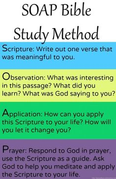 of the most simple Bible Study Methods, take only a few minutes but will stick with you!One of the most simple Bible Study Methods, take only a few minutes but will stick with you! Soap Bible Study, Bible Study Tips, Scripture Study, Bible Lessons, Bible Study Journal, Bible Study Plans, Bible Scriptures, Bible Quotes, Bible 2