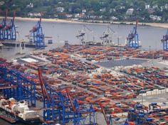 Rückgang im Containerumschlag: Hamburger Hafen legt Zahlen vor