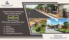 Gangotri Group Presenting New #project in #Lucknow Namely #MannatCity with best #amenities and one of the most #ecofriendly #Township of #Lucknow. #realestate #Dreamhome