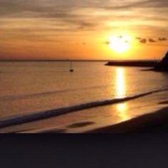Sunset. Costa Calma, Fuerteventura.