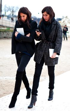 Street Style: REady for Winter with VOGUE Paris Editors