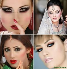Indian Makeup Ideas for All Occasions beautiful makeup ideas