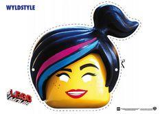 Free: The LEGO Movie Coloring Pages, LEGO Face Masks #EverythingIsAwesome