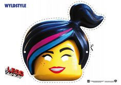 Free: The LEGO Movie Coloring Pages, LEGO Face Masks #EverythingIsAwesome
