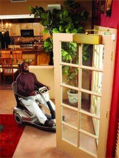 Open Sesame, automatic door opener.